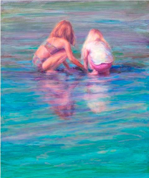 """Low Tide Treasures""  20 x 24"
