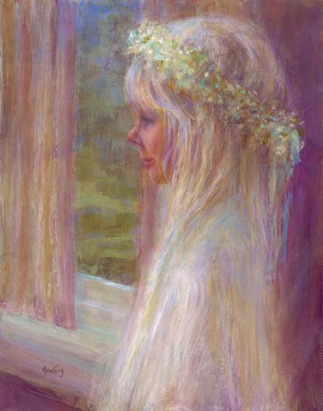 """""""April's Angel""""   16 x 20"""