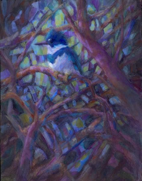 """""""Woodland Cathedral""""  14 x 18"""